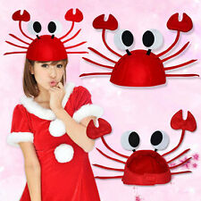 Crab Hats Caps Halloween Christmas Xmas Costume Party Decoration Props Gift