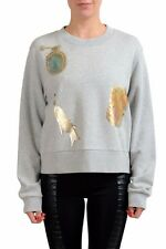 Maison Margiela MM6 Gray Emballished Women's Sweater US M IT 42