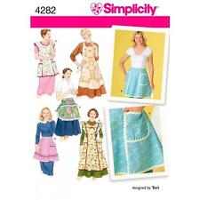 SIMPLICITY SEWING PATTERN MISSES' APRON ONE SIZE   4282
