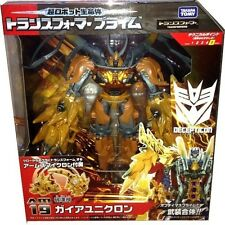 Takara Tomy Transformers Prime Animated Series AM-19 Gaia Unicron AM19 AU