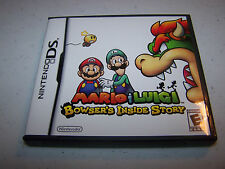 Mario & Luigi Bowser's Inside Story (Nintendo DS) Game w/Case & Manual