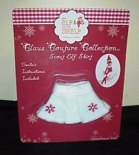 New -  the Elf on the Shelf - 2011 Snowflake Skirt RARE HTF