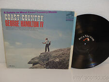 GEORGE HAMILTON IV Coast Country, Salute To West Coast Music LP RCA LPM-3510 '66