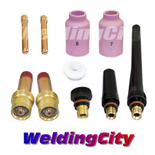 """TIG Welding Gas Lens Accessory Kit (0.040"""") for Torch 17/18/26 T12 