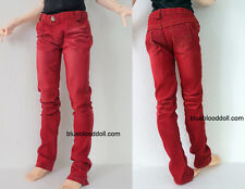 1/3 BJD Iplehouse EID Hero Soom ID male doll size red jeans #M3-52HE