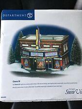 Dept 56 Snow Village® Cinema 56 BRAND NEW