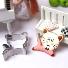 FD2924 DIY Stainless Steel Cookie Cutter Cake Baking Mould Biscuit Cat Mould ☆