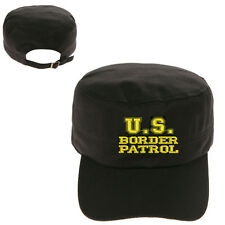 US U.S. BORDER PATROL MILITARY CADET ARMY CAP HAT HUNTER CASTRO