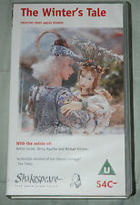 Shakespeare - The Animated Tales THE WINTER'S TALE - VHS Video Tape