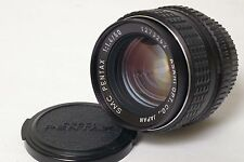 F4506~ Unusual & FAST Asahi SMC Pentax 50mm f/1.4 First Version K Bayonet Lens
