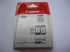 Original multi pack black color canon pg-545 + cl-546 mg-2550 -2450-2950 ip2850
