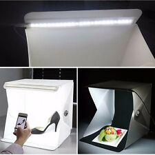"Mini Photo Studio 9"" Photography Light Room Lighting Tent Kit Backdrop Cube Box"