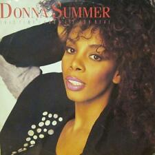 Donna Summer(Vinyl LP)This Time I Know It's For Real-Warner-U7780T-UK-VG/NM
