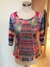 Olivier Philips Top Size 18 BNWT Green Blue Pink Orange White RRP £97 NOW £43
