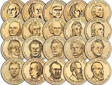 """Lot of 10 Random Years """"About Uncirculated"""" Presidential Dollars US Mint Coin"""