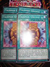 YU-GI-OH! COM TALISMAN GOGOGO LOT DE 4 (PLAYSET) SECE-FR098 NEUF