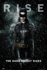 BATMAN THE DARK KNIGHT RISES ~ CATWOMAN RISE 24x36 MOVIE POSTER Anne Hathaway