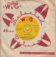 BARRY DARVELL How Will It End / Geronimo Stomp 45 ♦ W&G ♦ Rockabilly