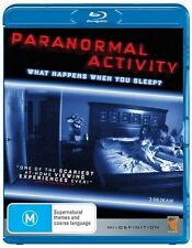 Paranormal Activity Blu-ray Discs NEW