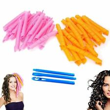 40PC 50CM Newly Magic Hair Curlers Curl Former Spiral Ringlets Leverage Rollers