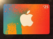Apple iTunes Store Collectible Cardboard Gift Card NO $ VALUE NO MONEY 2015 FUN