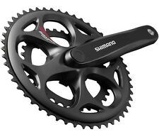Shimano Road Racing Bike Bicycle 7/8s Compact Double Chainset Crankset 34/50T