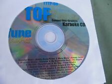 Top Tunes TTTP-08 Karaoke CDG ( Rock, Pop, Country)