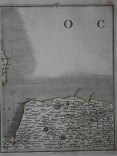 Original antique map NORFOLK, HOLT, FAKENHAM, REEPHAM, Cary, 1794
