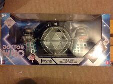 NEW SEALED DOCTOR WHO THE CHASE ACTION FIGURE SET 1ST DALEK MECHANOID Dr Baker