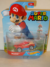 HOT WHEELS 2016 ENTERTAINMENT CARS NINTENDO SUPER MARIO BROS. * MARIO * NEW
