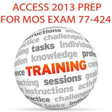 Access 2013 para Mos examen de certificación 77-424 - Video Tutorial DVD de entrenamiento