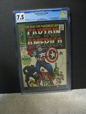 CAPTAIN AMERICA #100 CGC 7.5 Avengers Movie Stan Lee Marvel Comics 1968