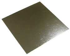 """50 x 14"""" Inch Square Silver Cake Board 3mm DOUBLE THICK"""