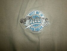 CHEERS LAS VEGAS T SHIRT Embroidered Bar TV Show vtg Everybody Knows Your Name L