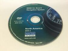 2004 2005 BMW 525i 530i 545i 5-Series On-Board Navigation OEM DVD Map U.S Canada