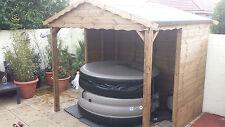 Luxury Hot Tub Canopy/Shelter 8 x 8
