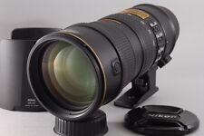 【AB- Exc】 Nikon AF-S Zoom-NIKKOR 70-200mm f/2.8 G ED VR Lens w/Hood JAPAN #2176