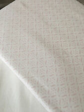 "100% Organic Cotton White Pink Queen Bed Sheet Set 15"" Pocket was $229 CLEARANCE"