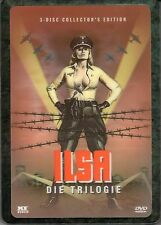 Ilsa - The Trilogy , Uncut , 3D-Holocover Ultra Steelbook , DVD , new / sealed