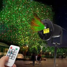 Outdoor Laser Xmas DJ Disco Stage Starry Sky Light Projector Landscape Garden