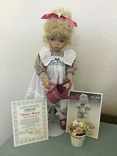 Mary Mary Quite Contrary Dianna Effner's Mother Goose Collec Knowles Doll 1st Is
