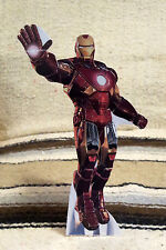 "Ironman Illustration Figure Tabletop Display Standee 10.5"" Tall"