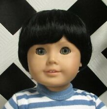 "Doll Wig Monique ""Johnny"" size 6/7 in BLACK - (Unisex)"