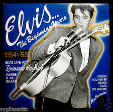 ELVIS PRESLEY-ELVIS... THE BEGINNING YEARS 1954 to 1956 w/Bonus 20 Page Book