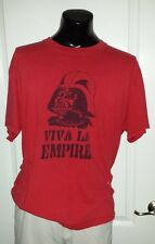 Star Wars Viva La Empire Darth Vader Logo Promo T Shirt XL Vintage Retro Rare