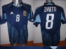ZANETTI ARGENTINA ADIDAS SHIRT XL JERSEY FOOTBALL CALCIO INTER MILAN TRIKOT TOP