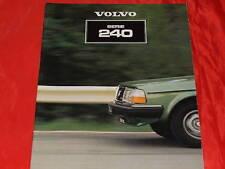 VOLVO 244 L GL Turbo GLE 245 L GL D6 Prospekt von 1981