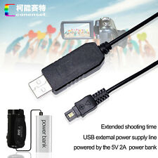 5V USB DC Adapter Power Charger For Sony HDR-CX320 CX330 CX350 CX360 Camcorder