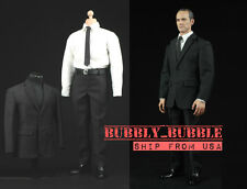 1/6 Men Fashion Suit Set For Hot Toys S.H.I.E.L.D. Agent Figure ☆SHIP FROM USA☆