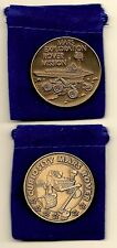NASA THE MARS ROVER CURIOSITY & MARS EXPLORATION ROVERS 2 BRONZE COMMEMORATIVES